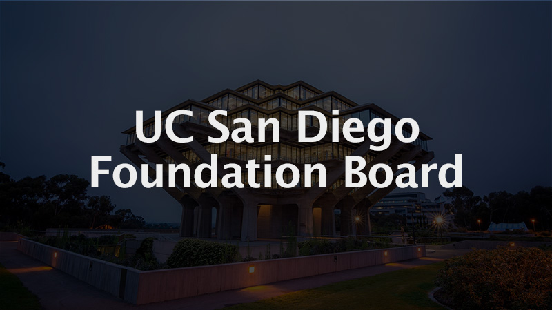 UC San Diego Foundation Board