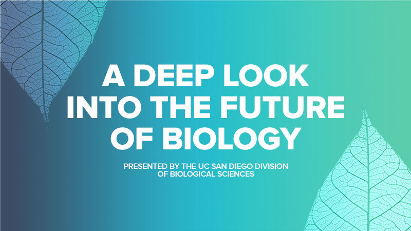 A Deep Look into the Future of Biology