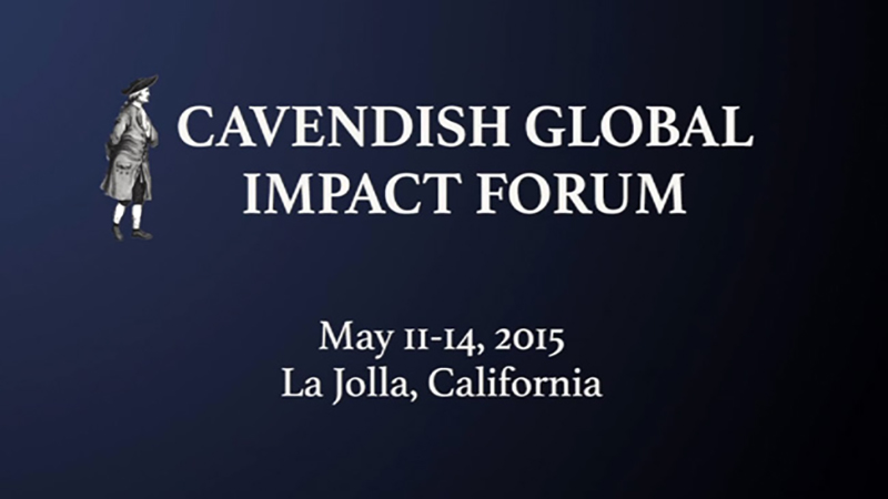 Cavendish Global Impact Forum 2015
