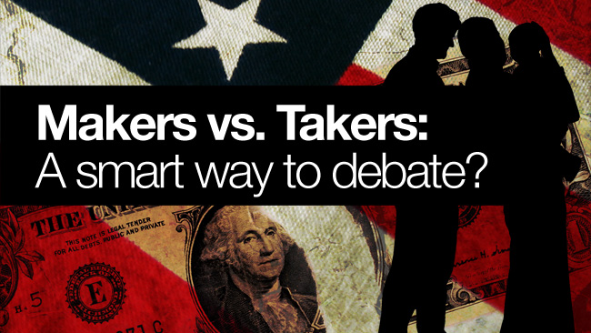 human and takers
