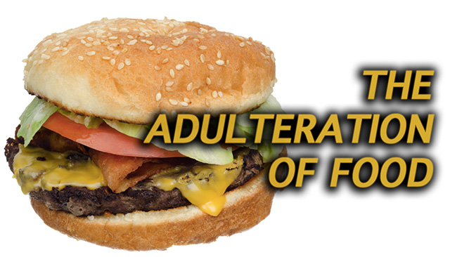 adulterated food a serious public health Criminality, the global supply chain and the unpredictable nature of food adulteration for financial gain mean it can pose a greater public health risk than traditional safety threats such as pathogen contamination, according to new research.
