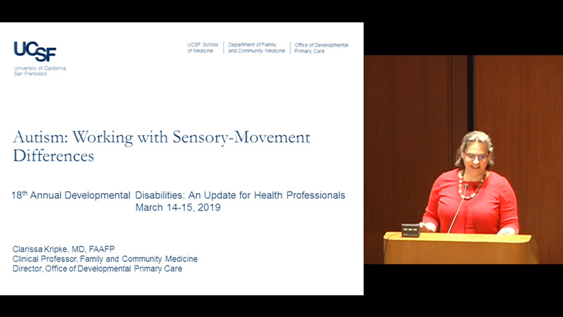 VIDEO: Autism: Working with Sensory-Movement Differences