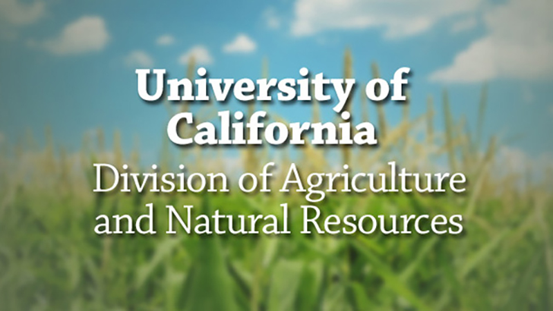 University of California Division of Agriculture and Natural Resources -  UCTV - University of California Television