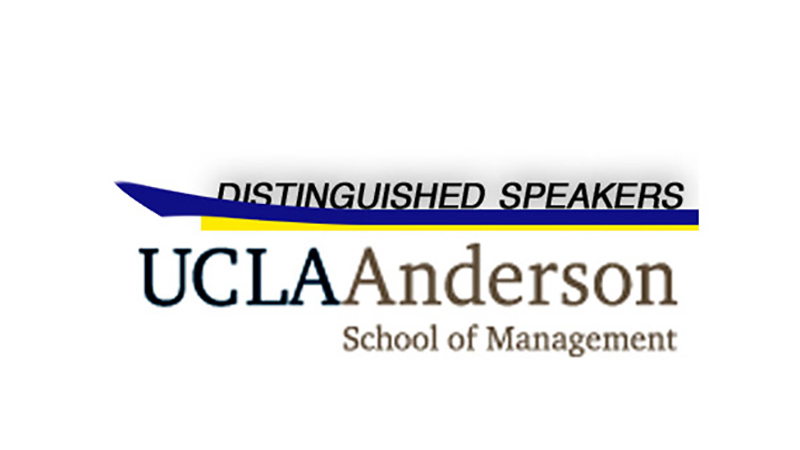 UCLA Anderson School of Management Distinguished Speaker Series